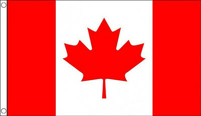 5/' x 3/' Canada Flag Canadian National Flags  Banner