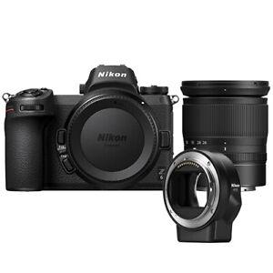 Nikon Z6 Mirrorless Digital Camera with 24-70mm Lens & FTZ Mount Adapter Kit