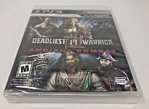 deadliest warrior ancient combat ps3 playstation 3 brand new