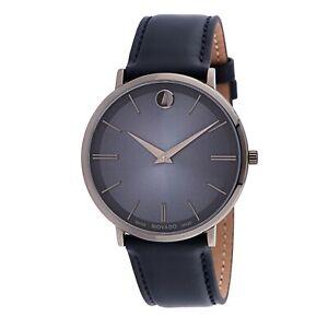 Movado 0607400 Men's Ultra Slim Blue Quartz Watch