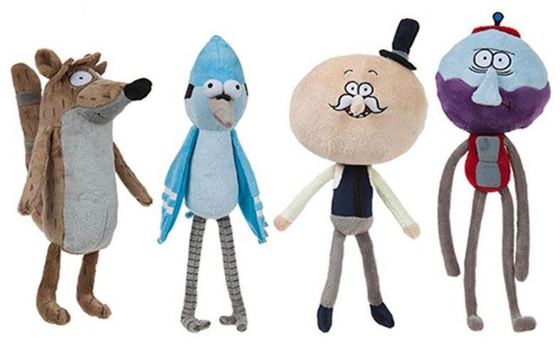 Peluche Regular Show Mardoqueo Originales Mardoqueo Show Rigby Benson 80a8b6
