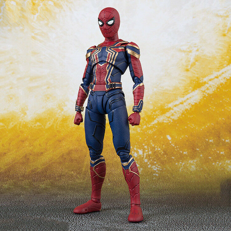 S.H.Figuarts Marvel Avengers Infinity War Iron Spider Spider-Man Action Figure Figure Figure 54b1f6