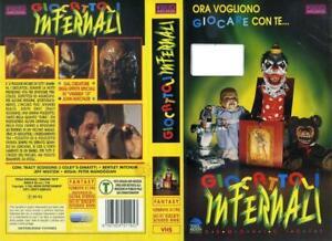GIOCATTOLI-INFERNALI-1992-PETER-MANOOGIAN-RARA-VHS-ORIGINALE-VIDEOARCADIA-OTTIMA