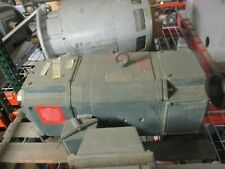 Reliance Dc Motor Lc2512a72 Frame 10hp 1750rpm 500v 17a Field Volts 300v Used