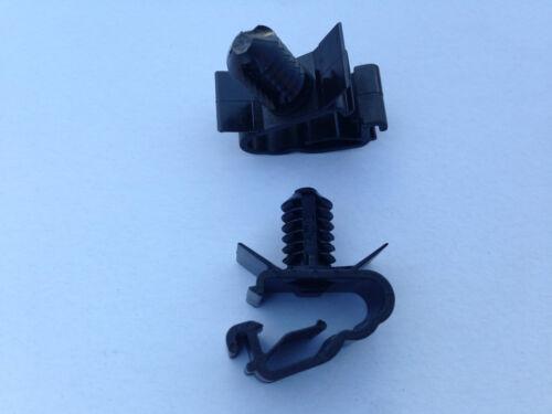 MG TF POSTERIORE ABS Sensor CABLAGGIO Clip /& SPLASH SHIELD CLK000020 Clip superiore