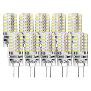 10-pezzi-G4-3W-Lampada-LED-Light-Bulb-3014-SMD-DC-12V-6000-7000K-freddo-Bia-O2T0