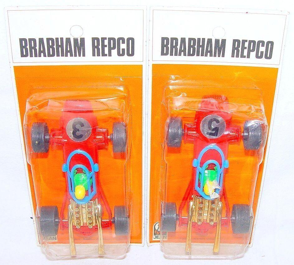 2x Jean Alemania 1 43 Brabham Repco Grand Prix Prix Prix Racing F1 Race Car 1975  3 y 5 Set MOC`70  13a63a
