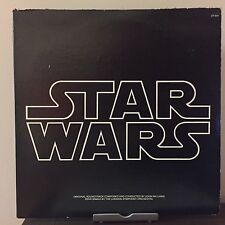 Star Wars Soundtrack by John Williams 1977 Vinyl 20th Century Records 1st Press