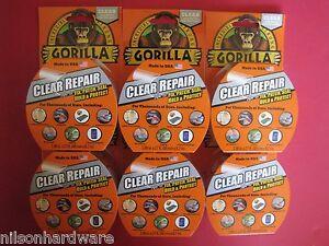6 Gorilla Tape Vinyl Patch Inflatable Underwater Wet Dry