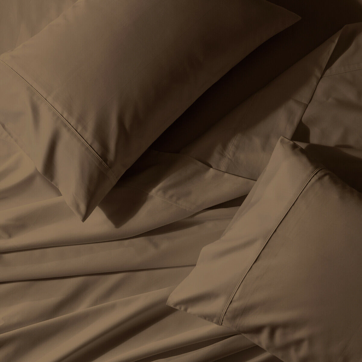 Attached Waterbed Sheet Set 650 Thread Count Count Count Solid Sateen 6a2397