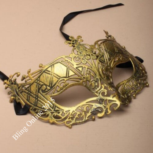 NEW VINTAGE STYLED MASQUERADE FANCY DRESS PARTY MASKED BALL FACE MASK VENETIAN