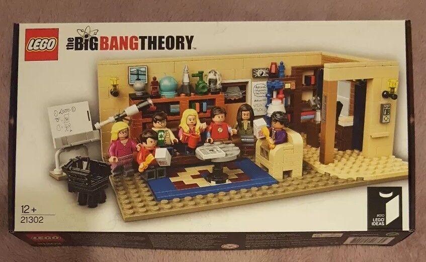 LEGO Ideas 21302-THE BIG BANG THEORY-NUOVO e SIGILLATO  IN PENSIONE Set
