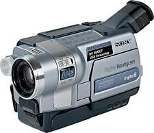 Sony DCR-TRV 345E PAL, Camcorder Digital 8 / Hi8, Videokamera / USB Streaming