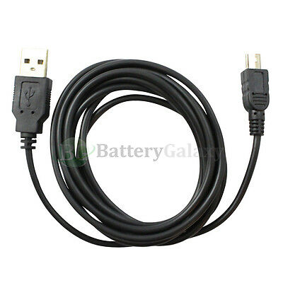 3 USB 10FT A Male to Mini B Male Printer Scanner Camera Cable Cord U2A1-2MBLK