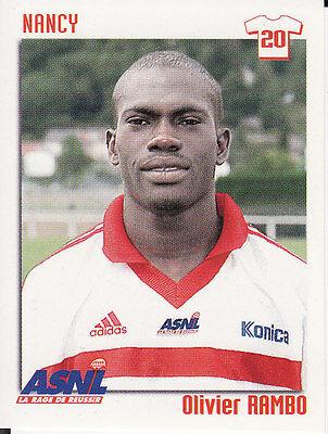 N°224 MAHOUVE # CAMEROUN SC.MONTPELLIER VIGNETTE PANINI FOOTBALL 99 STICKER 1999