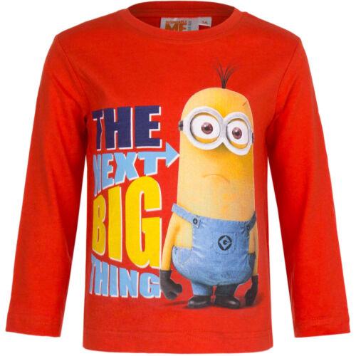 Minions Langarm Shirt Pullover Despicalbe Me