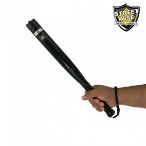 "TACTICAL STUN GUN WITH FLASHLIGHT 27 MILLION VOLTS 16"" LONG POWERFUL!!!"