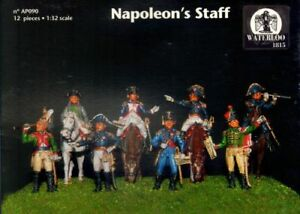 Waterloo-1815-1-32-French-Napoleon-039-s-Staff-AP090