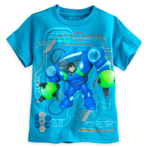 Disney Store Miles from Tomorrowland Robot Power Suit Boys T Shirt sz 4 5//6 7//8