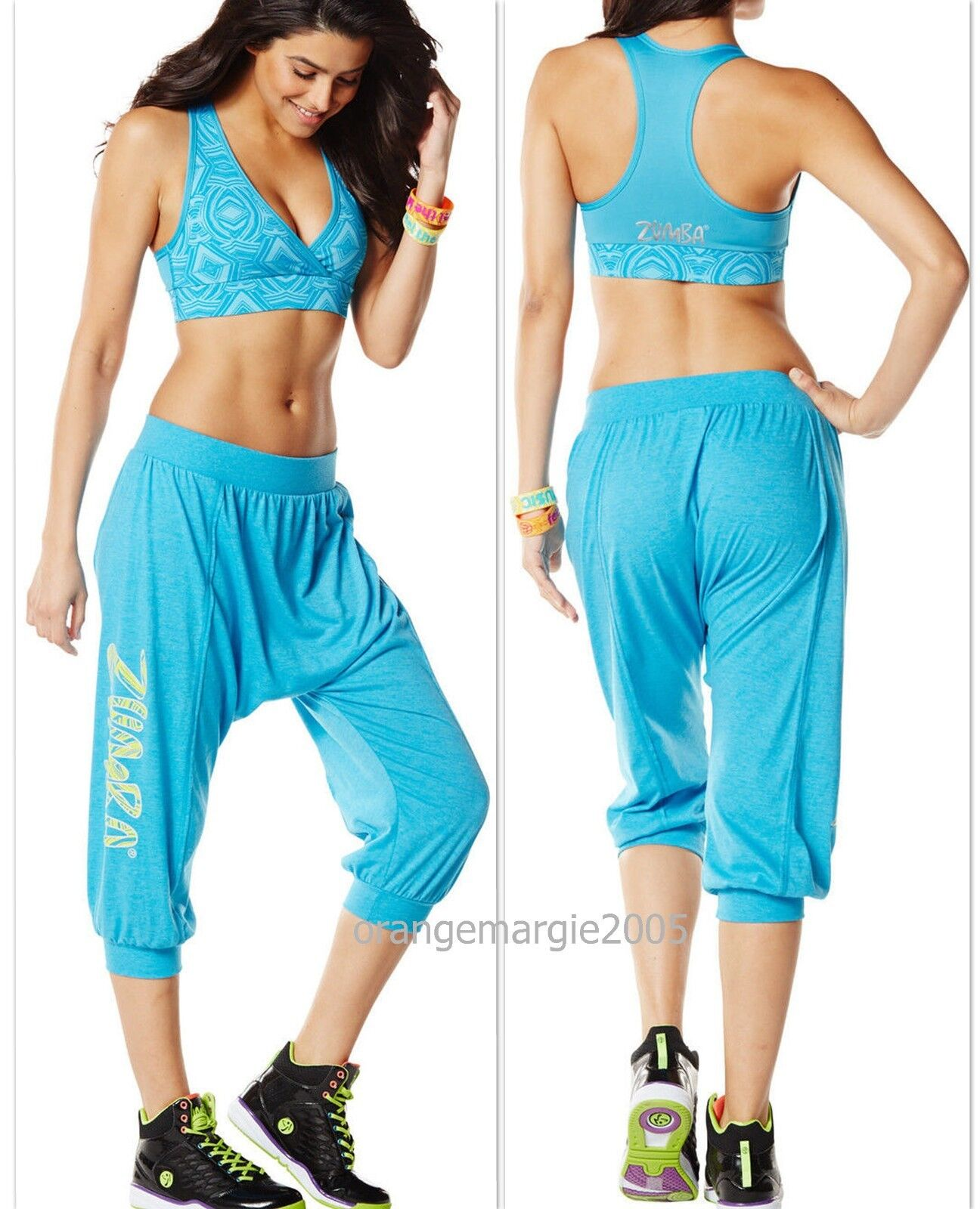 ZUMBA Hang Loose Harem Capri Dance Pants Hip-Hop Funky,Edgy  IT GIRL  EliteZwear