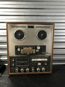 SANSUI-SD-3030-4-CHANNEL-STEREO-TAPE-REEL-TO-REEL-RECORDER-USED