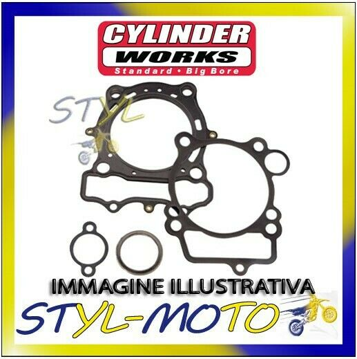 11009-K01 KIT CILINDRO MAGGIORATO CYLINDER WORKS HONDA TRX 700 XX 2008