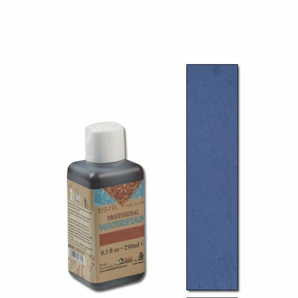 ECO - FLO PROFESSIONAL NAVY BLUE  LEATHER WATER STAIN - 8.5oz/ 250 ml bottle