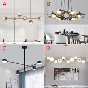 Modern Chandelier Lighting Kitchen Ceiling Lights Glass Pendant Light Home Lamp Ebay