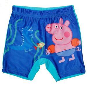 00565deb2ef64 Image is loading George-Pig-Boys-Swimming-Trunks-Shorts-Seaside-Holiday-