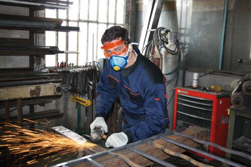 Delta Plus Venitex M1200SM FFP2 P2 Reusable Spidermask Dust Mask Shell Case of 5