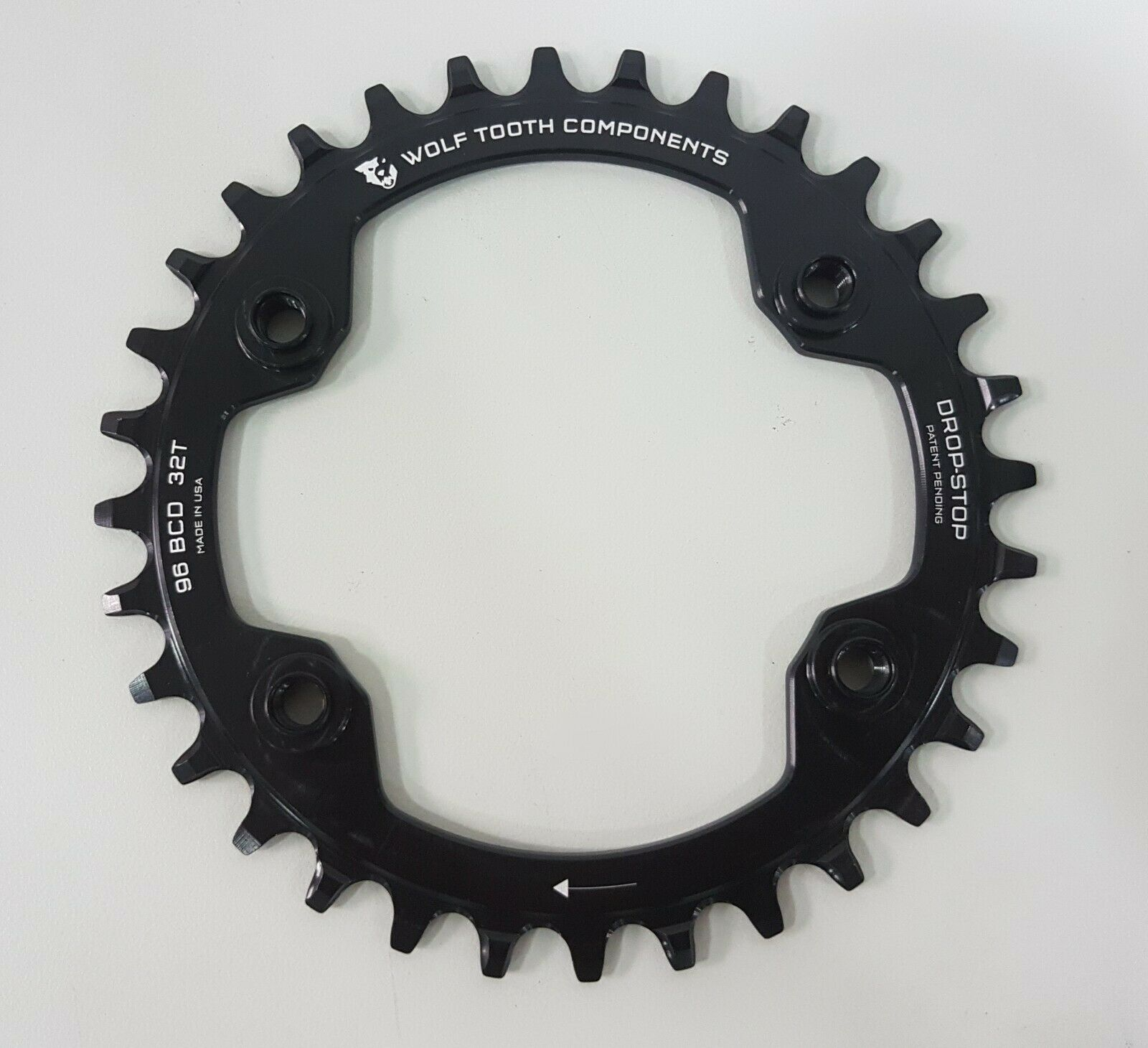 Wolftooth BCD 96mm x 4 Bolts 32T DropStop Chainrings For Shiuomoo XTR M90009020