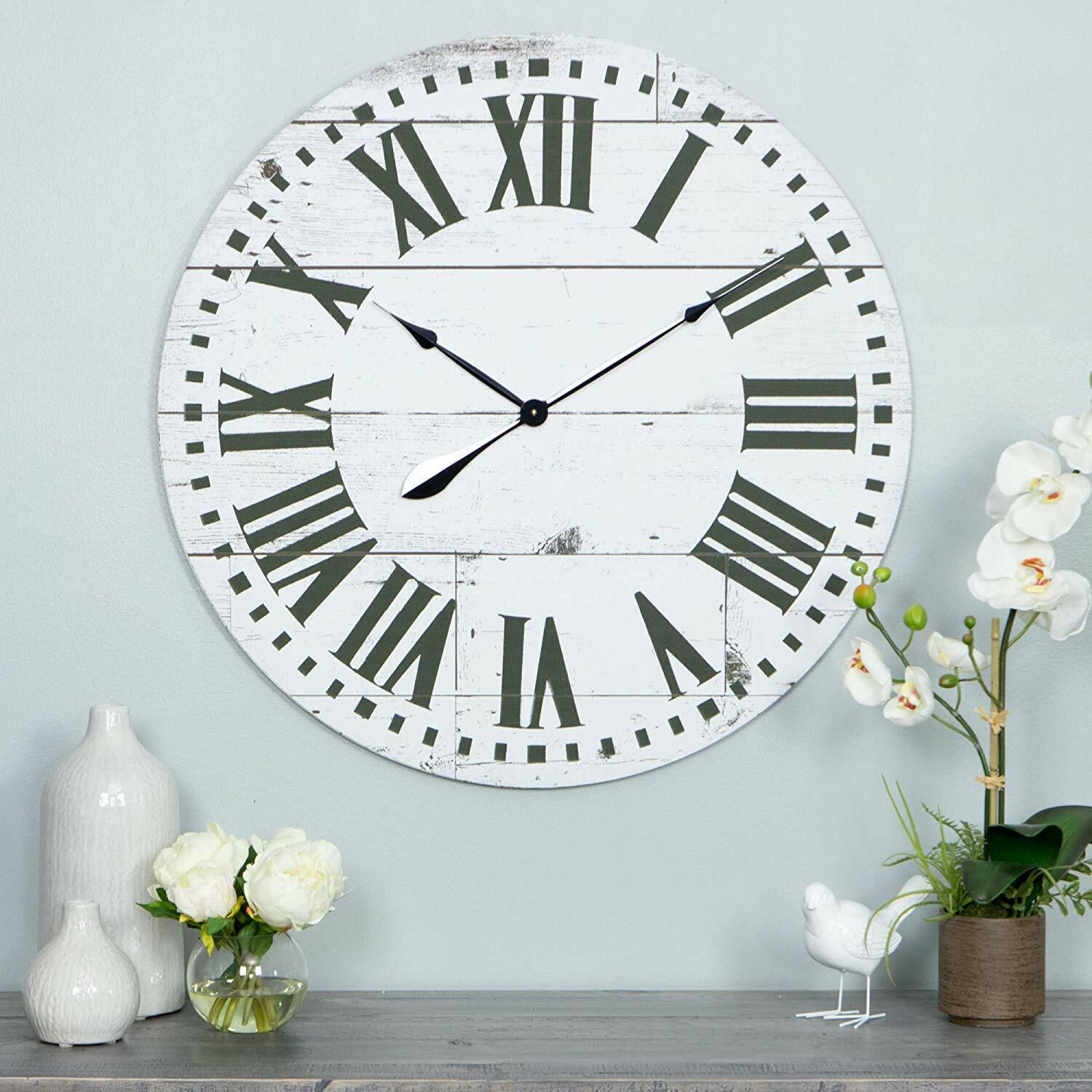 Oversized Wall Clock 30 Inch Large