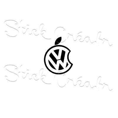 Autocollant sticker Volkswagen vw german look ref: vw89