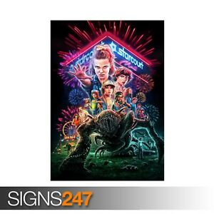 STRANGER-THINGS-3-POSTER-ZZ064-TV-SHOW-POSTER-Poster-Print-Art-A0-A1-A2-A3