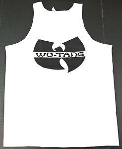 dedec03fdde96 WU TANG CLAN Tank Top Rap Hip Hop Gza Rza ODB Vest T-shirt Adult Men ...