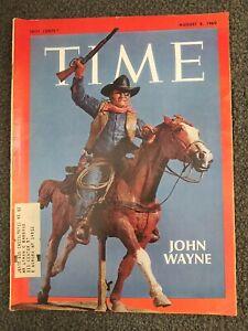 John Wayne - Apollo 11 - 1969 TIME Magazine - Complete Issue