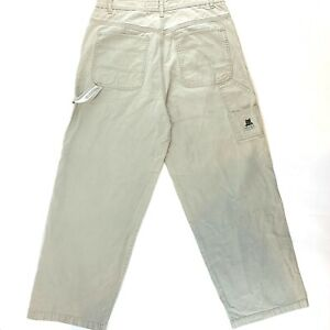VTG-90s-FREE-WORLD-Mens-Size-33-Phat-Wide-Rave-Skater-Jeans