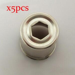 5-teile-los-mikrowelle-ersatzteile-Ersatz-magnetron-cap-Stahl-Kappe-Magnetron