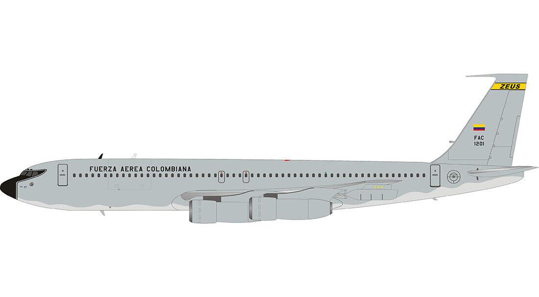 Hay más marcas de productos de alta calidad. Inflight 200 IF707COL0519 1 200 Colombiana Fuerza Fuerza Fuerza Aérea Boeing 707-300 FAC1201  descuento