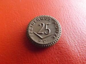 * Freiberger Münze 25 Pfennig Notgeld Porzellan 1921 (schub 46) Um Sowohl Die QualitäT Der ZäHigkeit Als Auch Der HäRte Zu Haben