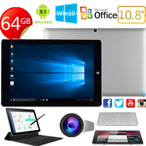 10-8-039-039-4-64GB-PC-Tableta-CHUWI-Hi10-Plus-Win10-Android-5-1-4Core-3G-WIFI-HDMI