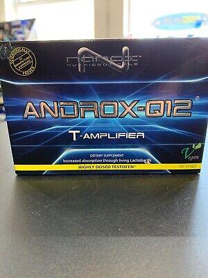 Nanox Androx Q12 Testosterone Amplifier - Highly Dosed Testofen - New eBay