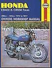 Owners' Workshop Manual: Honda CB400 and CB550 Fours, 1973 1977 No. M262 by John Haynes and John Witcomb (1995, Paperback)