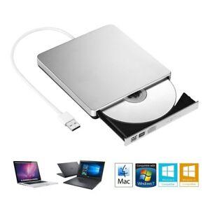 Grabadora DVD / CD externa lector reproductor Portátil Topelek USB Windows Mac