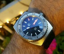 H2O ORCA TURBO VINTAGE CASE 2000M DIVER AUTOMATIC WATCH MINT WITH BOX