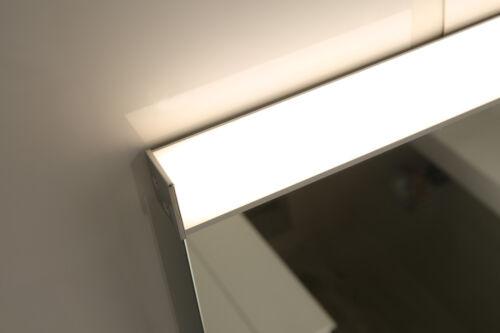 LED-Beleuchtet Badezimmerspiegel 3-Stufen-Dimmer Ultrahell Touch-Schalter GS100T