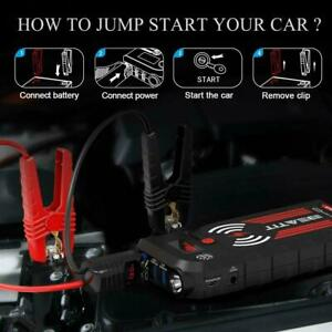 Details About Beatit G18 2000amp Peak 12v Portable Car Jump Starter 21000mah Wireless Charger