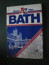 AZ street plan for BATH a folding map
