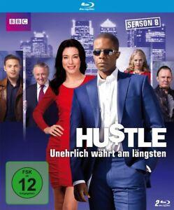 Hustle-Unehrlich-waehrt-am-laengsten-Season-Staffel-8-2-Blu-ray-039-s-NEU-OVP