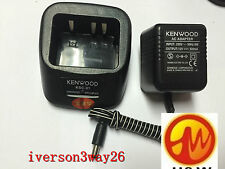 Rapid Single Unit Charger for Kenwood TK-2200 TK-3200 TK-3207 Radio as KSC-31